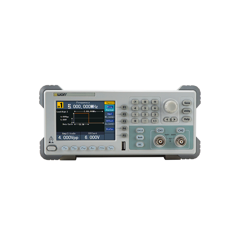 OWON 2-CH Arbitrary Waveform Generator with Counter