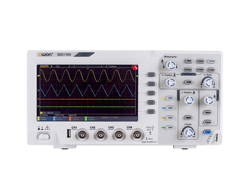 OWON SDS1104 4CH Series  Economical Type Digital Oscilloscope