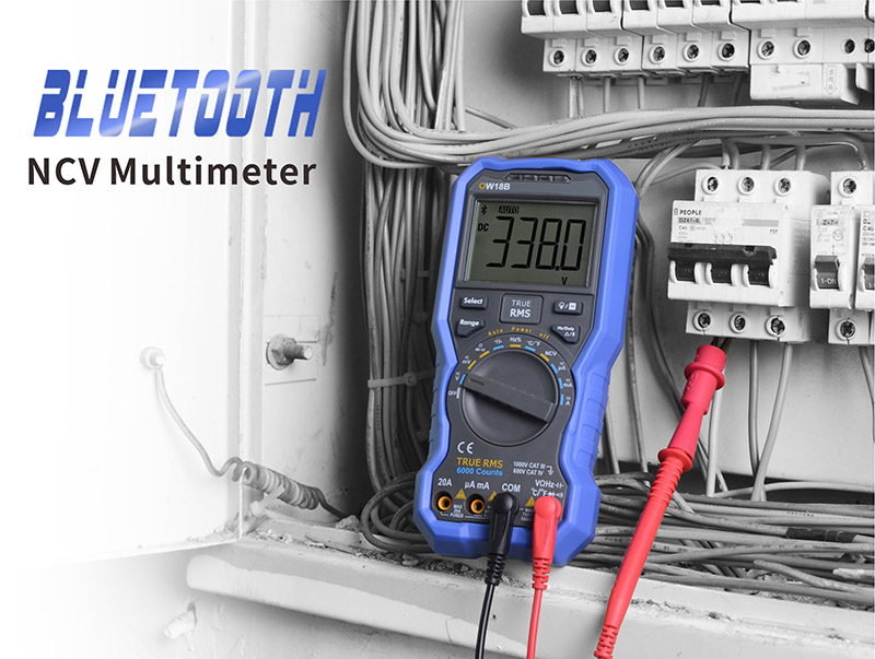 OWON Digital NCV Multimeter with Bluetooth is the branch of OWON's handheld multimeter series. With smaller size and faster reponse rate. Support NCV, True RMS, bluetooth communication. Can be used as Data Logger, Multimeter and Thermometer. Contact us for more detail information!