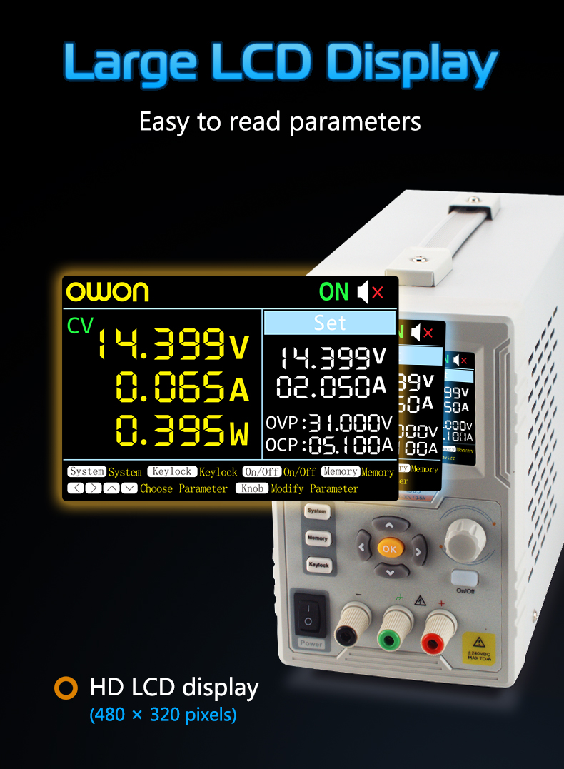 Owon 1ch Liner Dc Power Supply